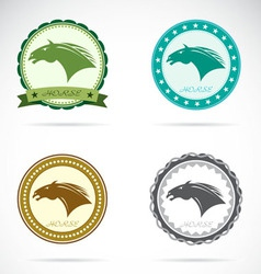 Set of horse label vector