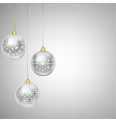 Hanging bauble vector