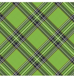 Tartan plaid pattern background with fabric vector