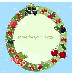Berries fame vector