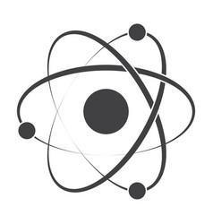 Model atom icon vector