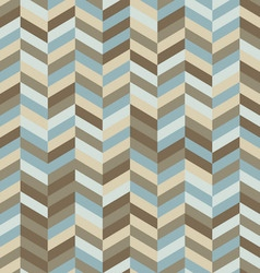 Zig Zag Background in Trendy Hipster Colors vector image vector image