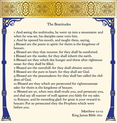 The beatitudes vector