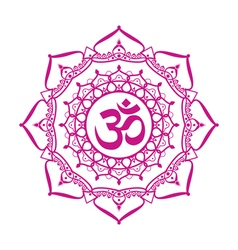 om aum sign vector image