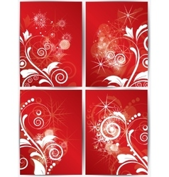 Abstract christmas winter background for new year vector