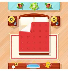 Bedroom Design vector image vector image