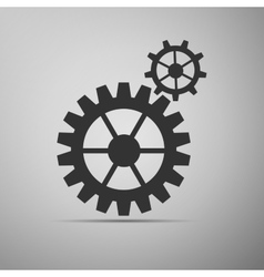 Gear icon vector image vector image