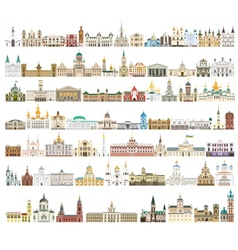 Ukraine Architecture Pack vector image