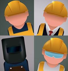 Workers design vector image
