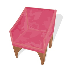 Velvet-chair vector