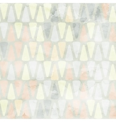 Watercolor honeycomb seamless pattern vector