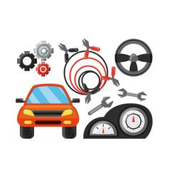 Car service design vector