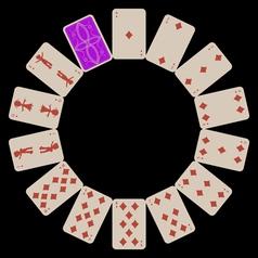 circle shapes vector image