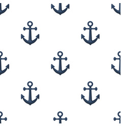 anchor icon in cartoon style isolated on white vector image
