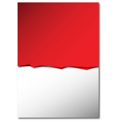 background-red-white vector image