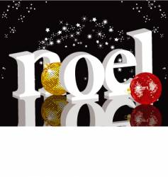 Christmas noel vector