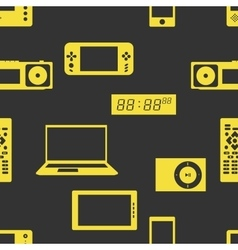 Devices and gadgets pattern vector image vector image