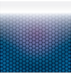 geometric pattern of hexagons vector image