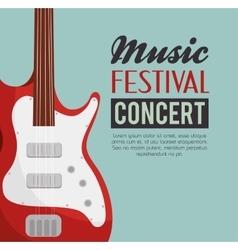 Music festival concert poster vector