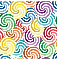Vivid swirl pattern vector