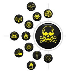 Hazard warning vector