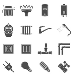 home supply vector image vector image