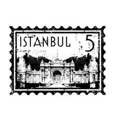Istanbul icon vector