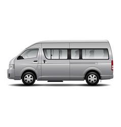 Minibus car vector