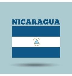 Nicaragua country flag vector