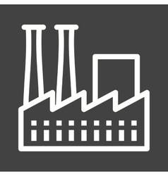 Factory III vector image