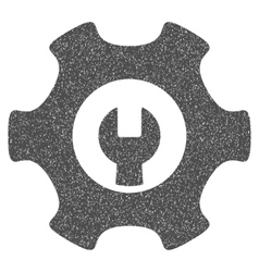 Service tools grainy texture icon vector