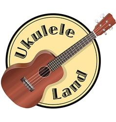 ukulele Logo vector image
