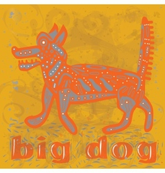Big dog vector