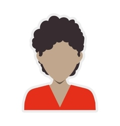 Man head and torso icon avatar male design vector