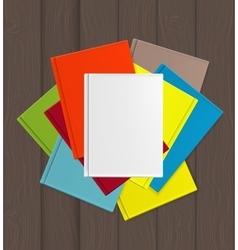 Superiority e-book over paper books concept vector