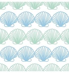 Abstract seashels stripes seamless pattern vector image