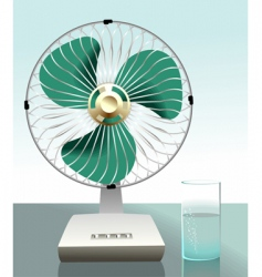 Fan arrangement vector
