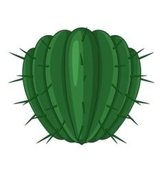 Big needles cactus icon cartoon style vector