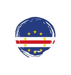 Cape verde flag vector