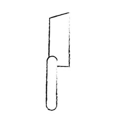 knife kitchenware icon image vector image