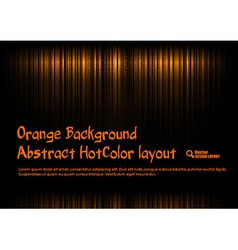 Orange Template vector image vector image