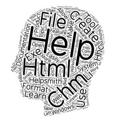Create chm html help files easily text background vector