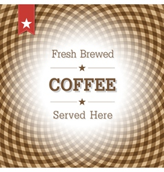 Coffee card design template vector