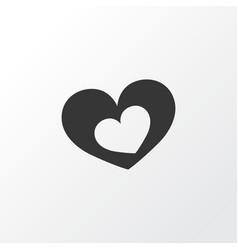 Romantic icon symbol premium quality isolated vector
