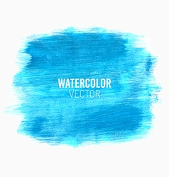 Painted watercolor stain vector