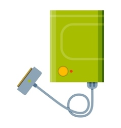 Charger flat vector image