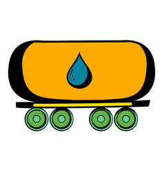 Oil tank icon icon cartoon vector