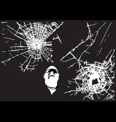 urban vandalism vector image