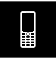 The phone icon cellphone symbol vector