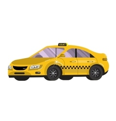 Flat styled  taxi vector